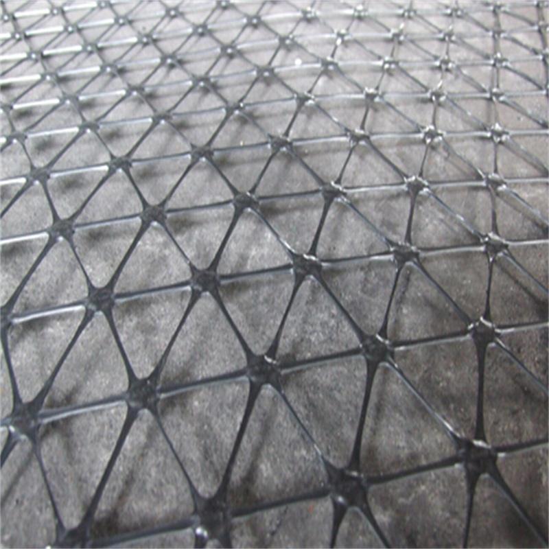 青海鋼塑土工格柵