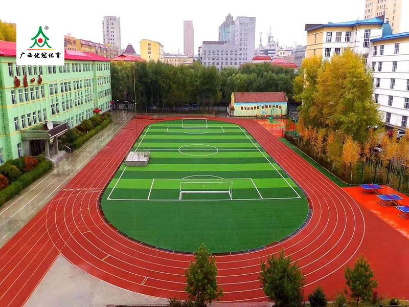 云南运动场人造草坪施工厂家_价位合理的人造草坪足球场出售