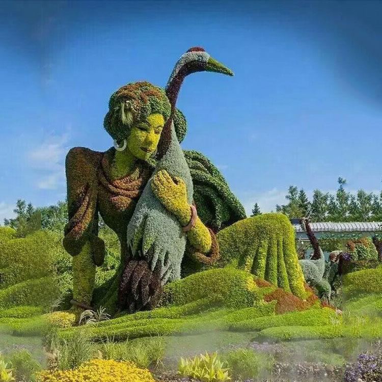 扬州卡通绿雕|优良卡通绿雕定做