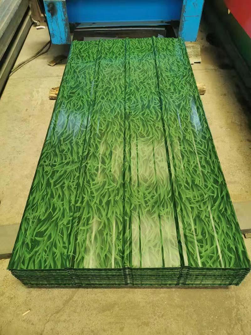 小草围挡板批发_优良小草彩钢板供应商