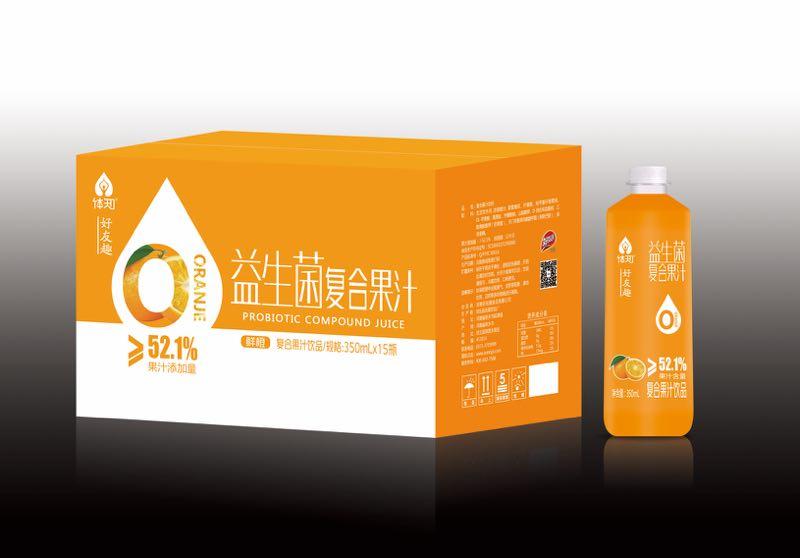 橙子味益生菌复合果汁