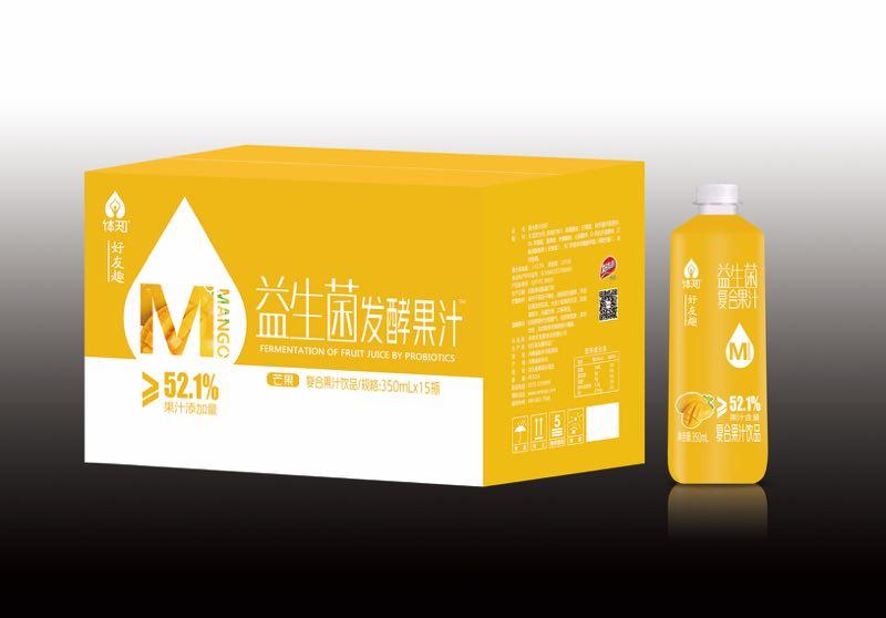 芒果味益生菌复合果汁