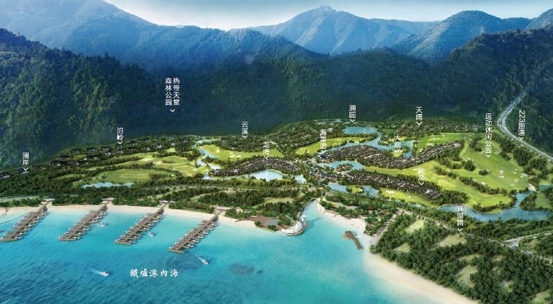 海南省融创海棠湾在售户型-专业三亚房产中介服务