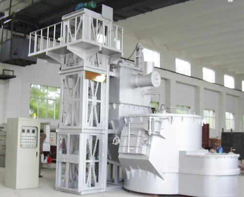 哈爾濱松花江節能電爐廠-熔鋁爐