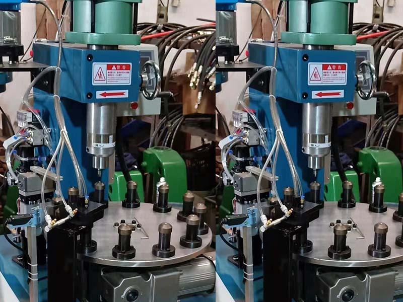 多工位液壓旋鉚機