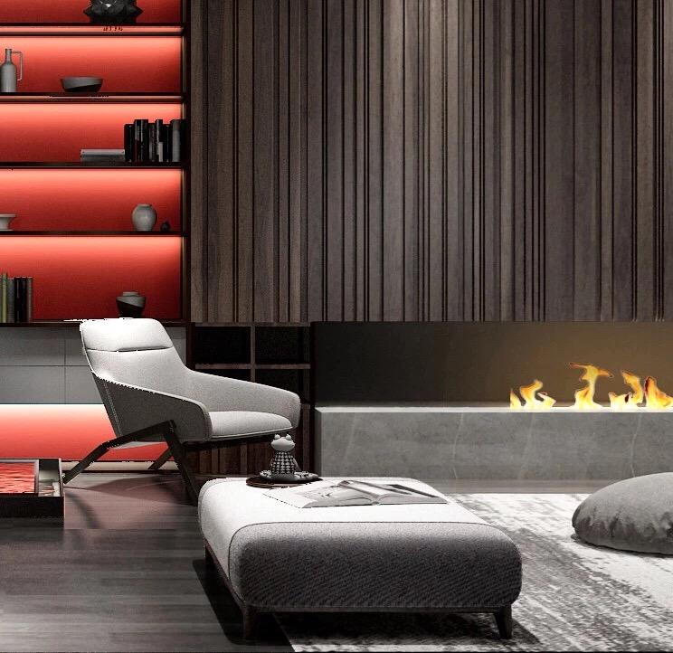 长沙3D壁炉品牌-深圳划算的雾化壁炉-认准莱诺家居
