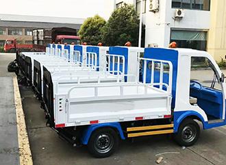 郑州专业的环卫电动垃圾运桶车供应商-液压自卸环卫车