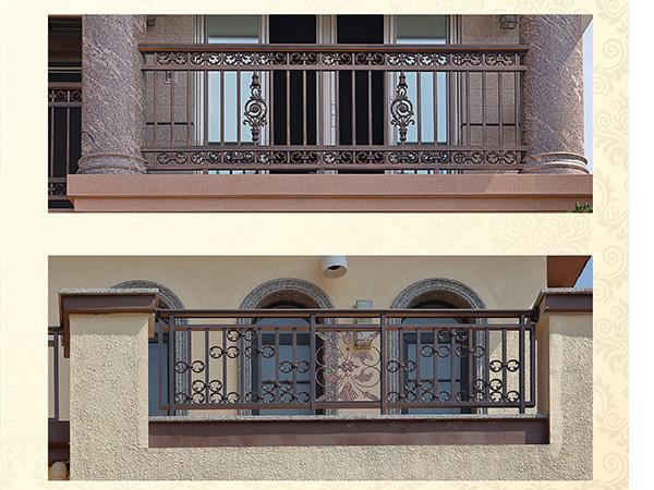 庭院铝艺栏杆_长沙划算的长沙铝艺大门出售