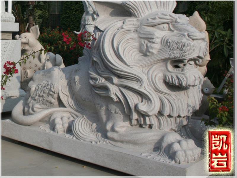 大量批發石雕獅子-獻錢獅子廠家