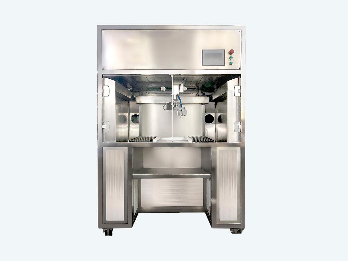 五軸自動片模噴油機