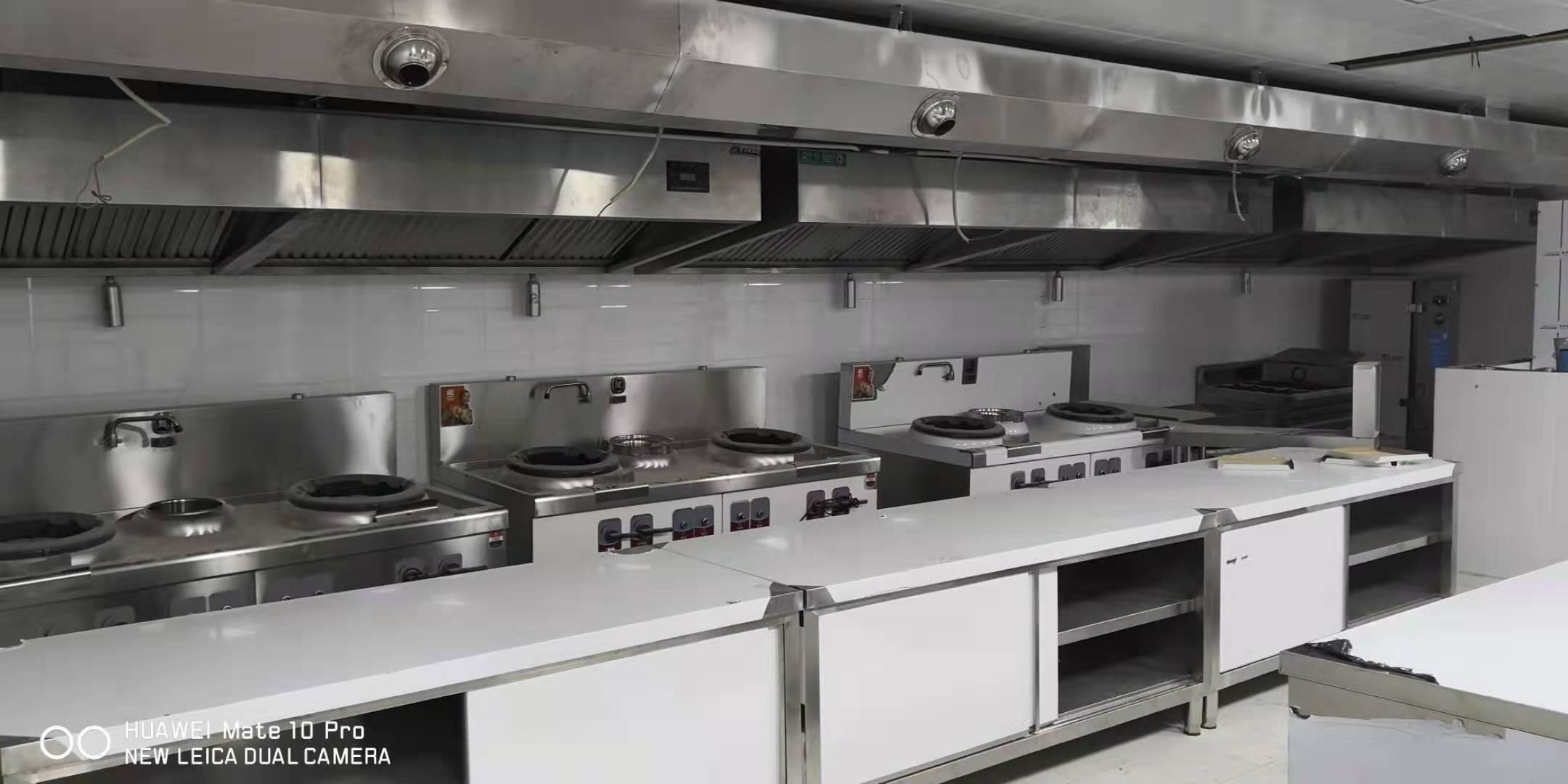许昌品牌好的许昌厨房排烟通风设备价格-禹州烟罩一体机安装