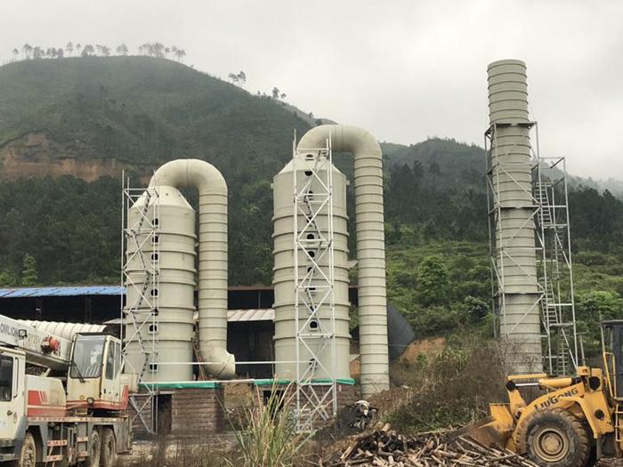 肇庆脱硫塔供货厂家|选购好用的脱硫塔就选众利昌环保设备