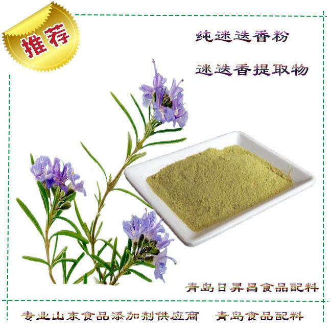 青岛食品添加剂供应商为您讲述迷迭香粉的作用与功效