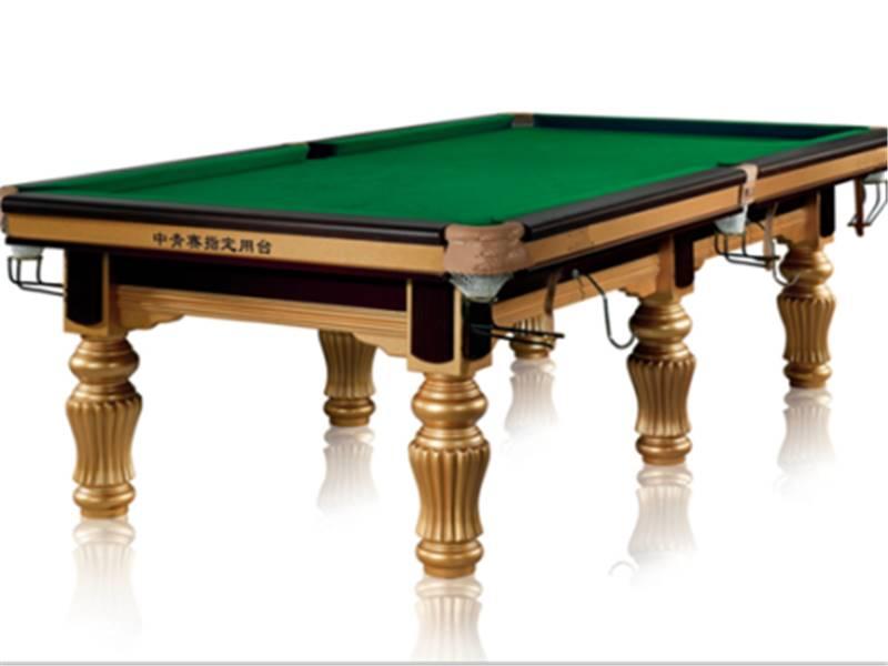 耐用的台球桌 东莞高质量的家用美式娱乐室桌球