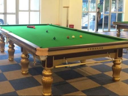 英式桌球臺價格-東莞市強利體育器材價格劃算的英式斯諾克球臺供應
