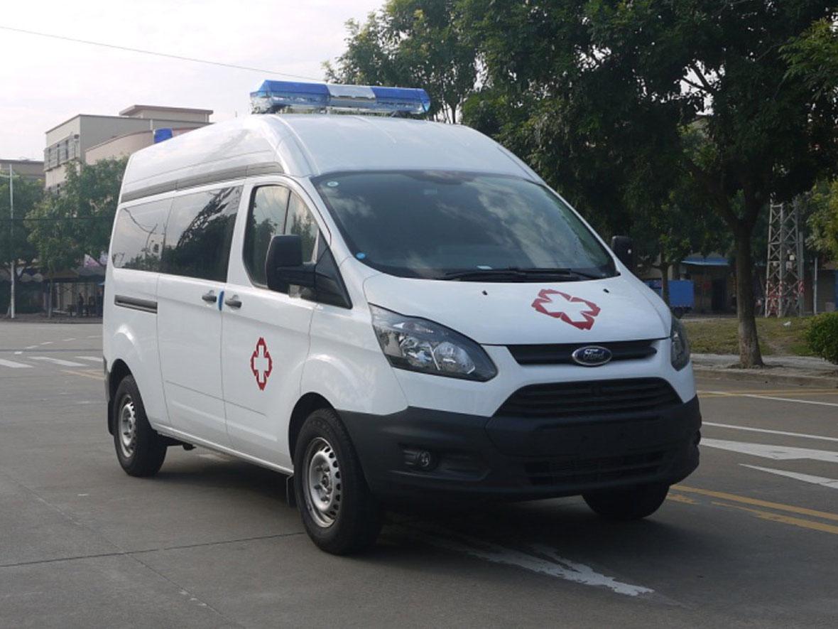 福特新全顺V362负压监护型救护车
