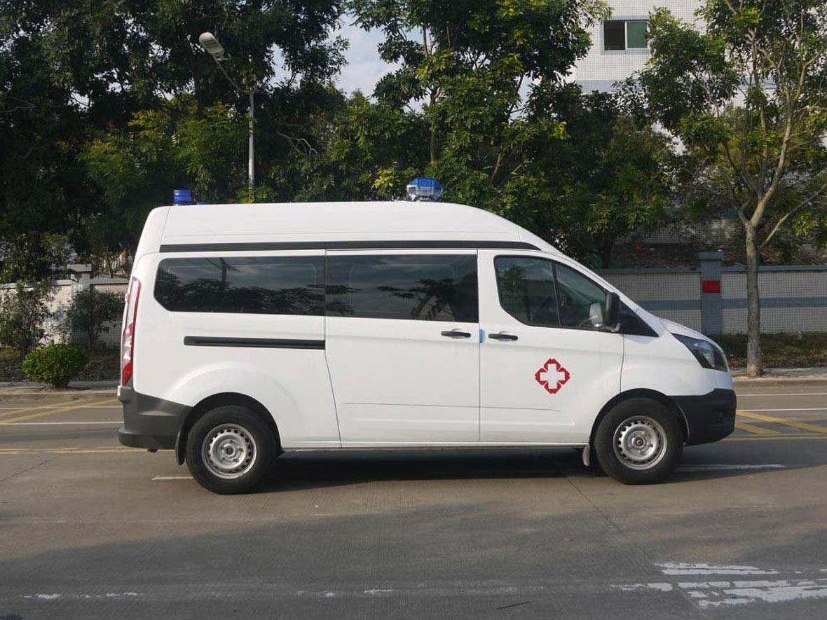 買福特新全順V362負壓監護型救護車就來DS德晟