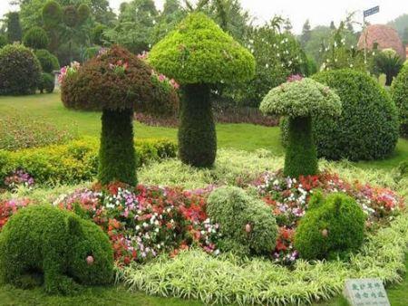 優惠的仿真綠雕工藝-仿真綠雕工藝就到沭陽半分利景觀工程