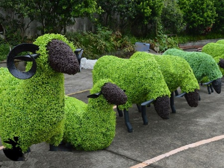 动物绿雕chang家-动物绿雕优xuan沭阳半分利景观工程