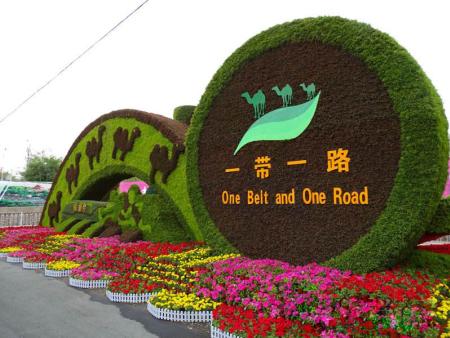 节庆绿雕绿厂家-沭阳半分利景观工程专业供应节庆绿雕