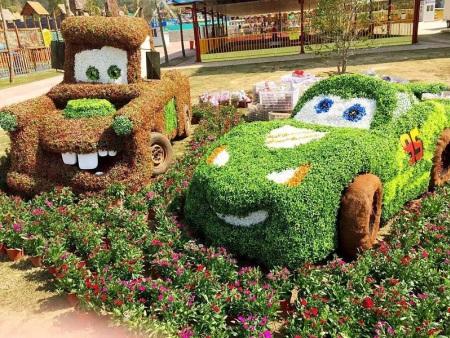 沭陽卡通綠雕-哪里有卡通綠雕供應批發