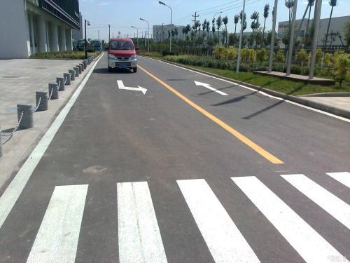 沈阳马路划线,专业道路划线就找展恒建筑装饰,质量可靠