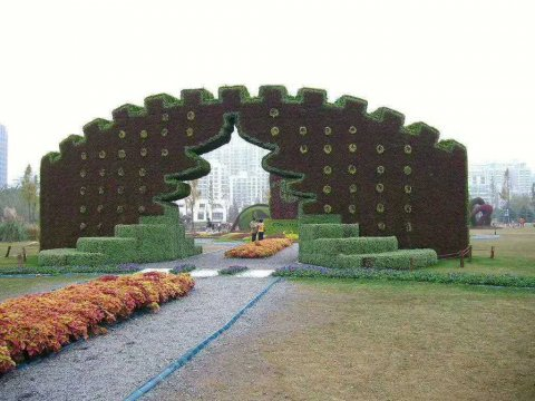 想要造型好的綠雕就到沭陽藝柯裝飾工程