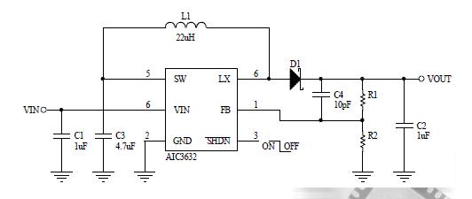 杭州市AIC3632应用于有机发光二极管驱动器电源ic