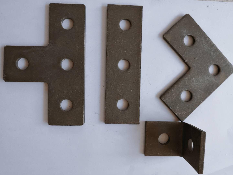 抗震配件二孔直板