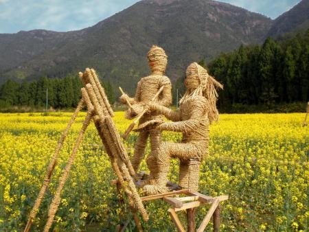 稻草人工艺品