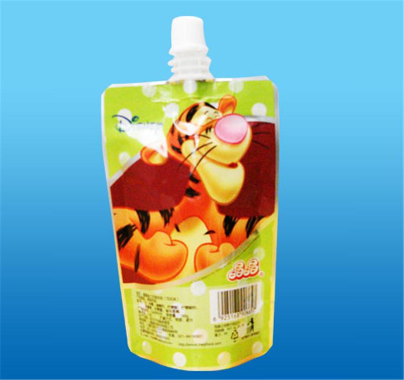 划算的铝箔液体袋|广东实惠的牛奶郭东光吸嘴袋推荐