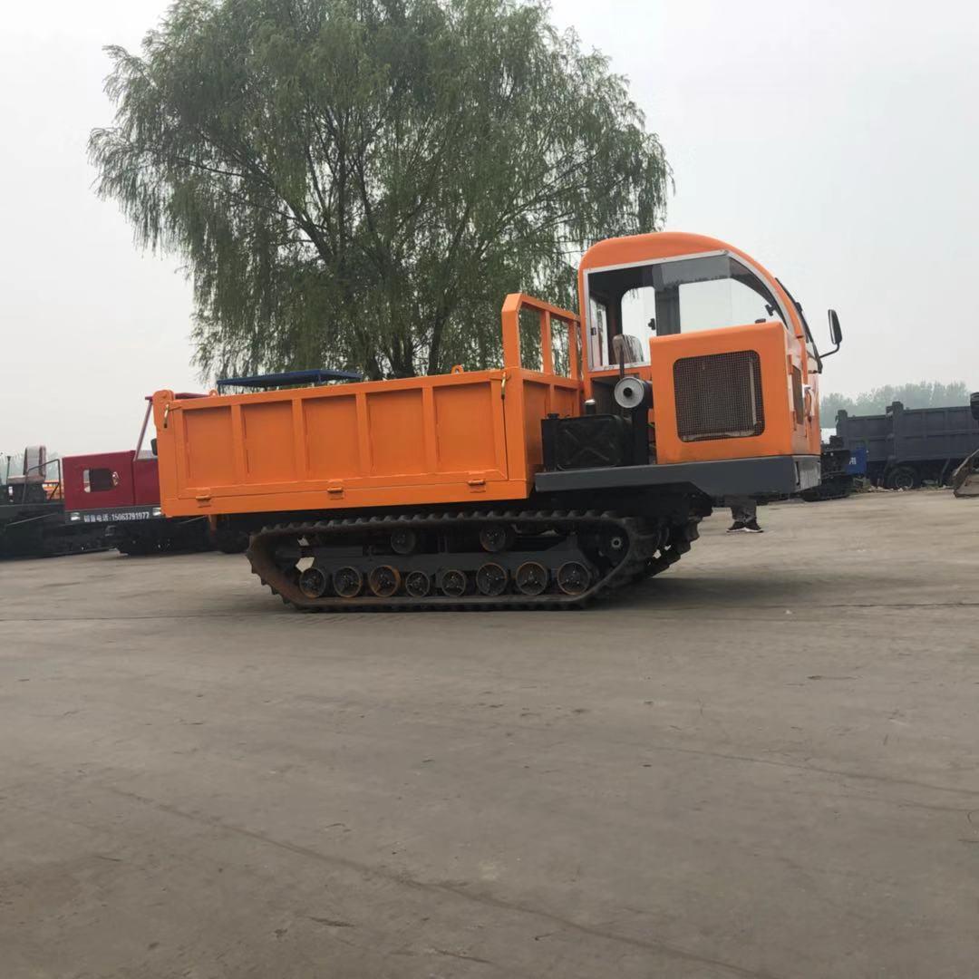 8吨高端履带矿用车-供应高质量的矿山履带运输工程翻斗车