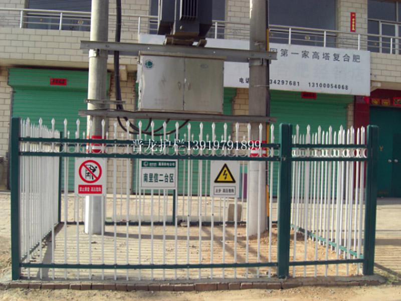 锌钢护栏甘肃种类-供应兰州新品变压器护栏