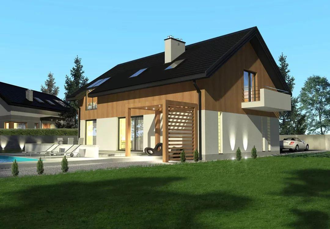 轻钢别墅与砖混房屋的造价对比,轻钢别墅优点