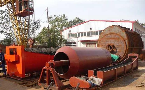 螺旋洗沙機設備 螺旋式分級機大型洗礦機 全自動洗沙機