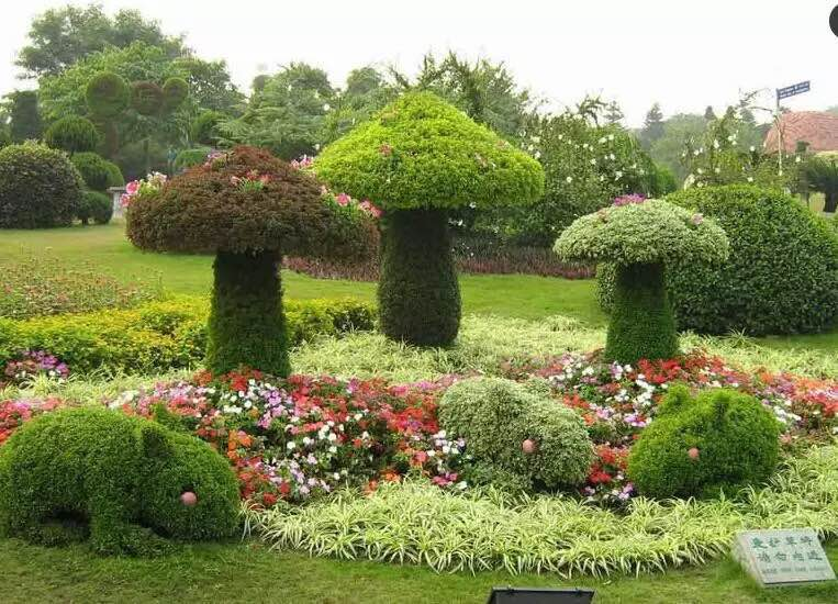 节庆绿雕作品-动物绿雕制作哪家实力强