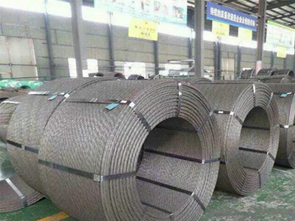 钢绞线厂家_湖南鸿达路桥建材_优良钢绞线供应商