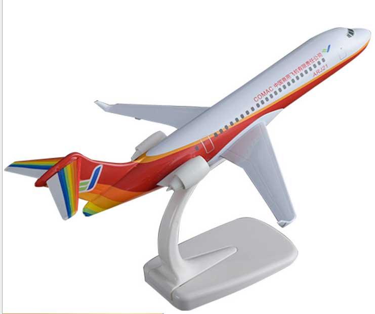 大飞机ARJ21-专业仿真飞机模型制造厂家-汕头永航