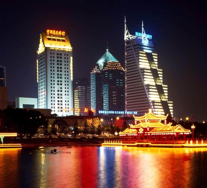 夜景照明工程为城市建设增添亮色