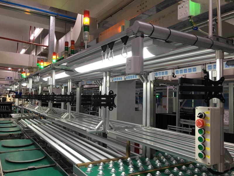 工业装配流水线-自动化流水线设备-赛杰自动化供
