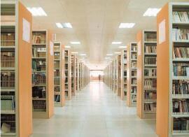 重庆图书馆书架厂家直销_图书馆书架_荣涛家具专注家具品质