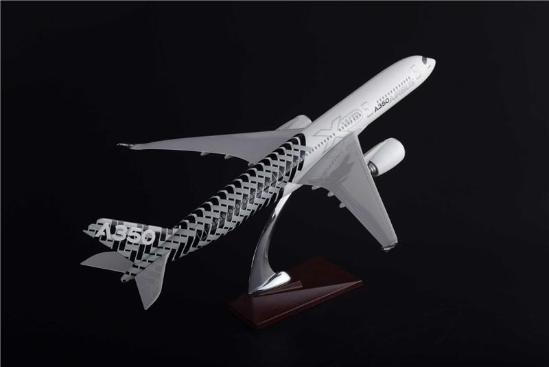 绿色航空-A350XWB宽体飞机-航空模型