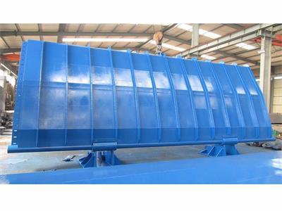 绿春底横轴翻板闸门工作环境 液压合页坝工作条件