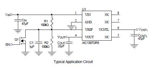 江西AIC1387内置软启动和线性稳压器设计哪家好