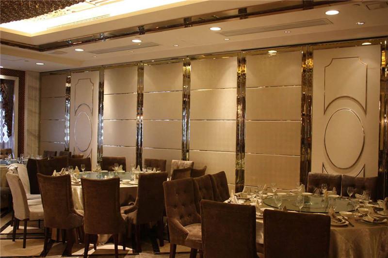 济南移动屏风专业供货商-100型酒店活动隔断墙推荐