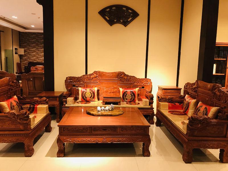 酒泉红木餐桌批发-性价比高的红木家具御源林供应