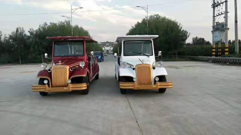 爱尔洁环卫设备-专业的电动四轮旅游景区观光车经销商_山西看房车观光车复古老爷车