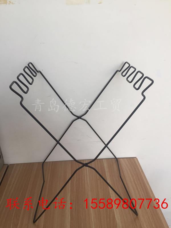 廠家加工定制 可折疊鐵架臟衣籃置物籃  線材加工 臟衣袋鐵件