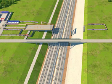 有创意的桥梁工程动画设计出自艺源动画 实惠的桥梁工程动画