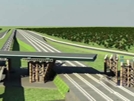 的桥梁工程动画设计公司_艺源动画 的桥梁工程动画